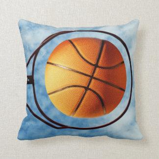 Basketball,_Hot_Shot,_Lounge_Cushion. Throw Pillow