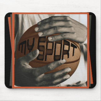 BASKETBALL HUG - MY SPORT - GIFTS MOUSE PAD