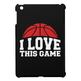 Basketball - i love this game cover for the iPad mini