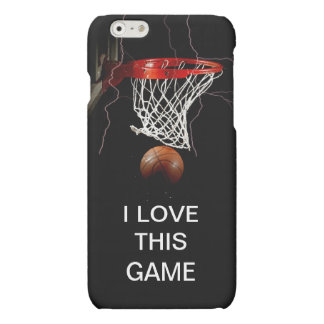 Basketball I Love This Game iPhone 6 Case