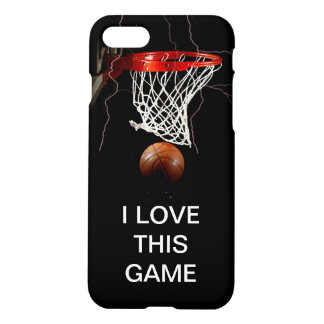Basketball I Love This Game iPhone 7 Case