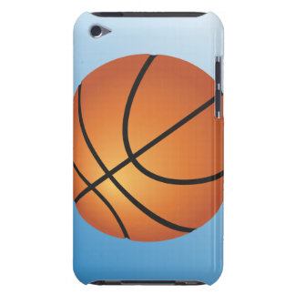 Basketball Icon Blue Background Barely There iPod Case
