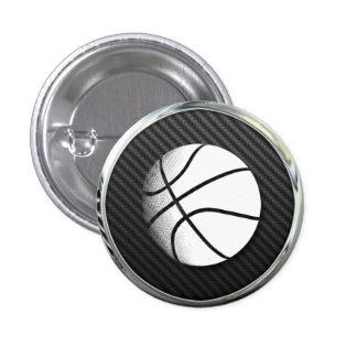 Basketball Icon Pins