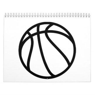 Basketball icon calendar