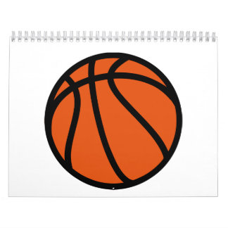 Basketball icon calendar