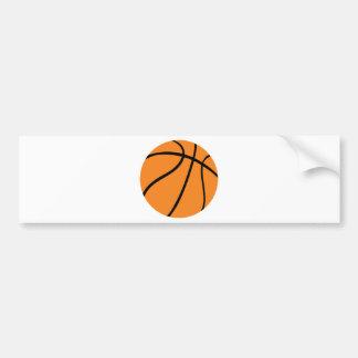 basketball icon car bumper sticker