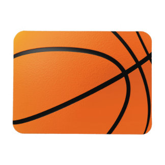 Basketball in 3d magnet