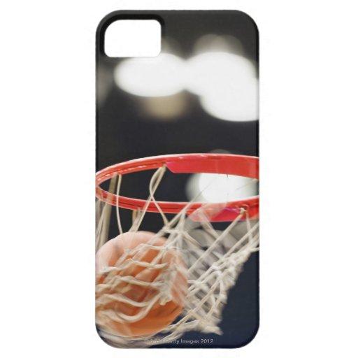 Basketball in basket. blackberry case
