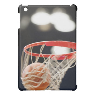 Basketball in basket. iPad mini case