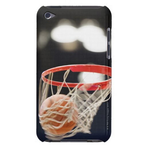Basketball in basket. iPod Case-Mate cases
