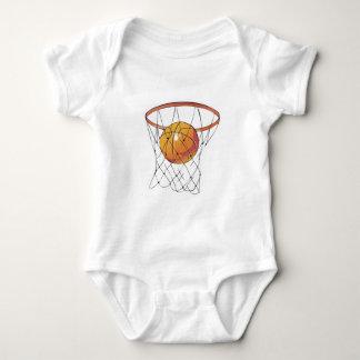 basketball in hoop baby bodysuit