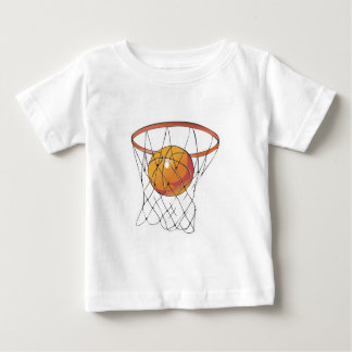 basketball in hoop baby T-Shirt