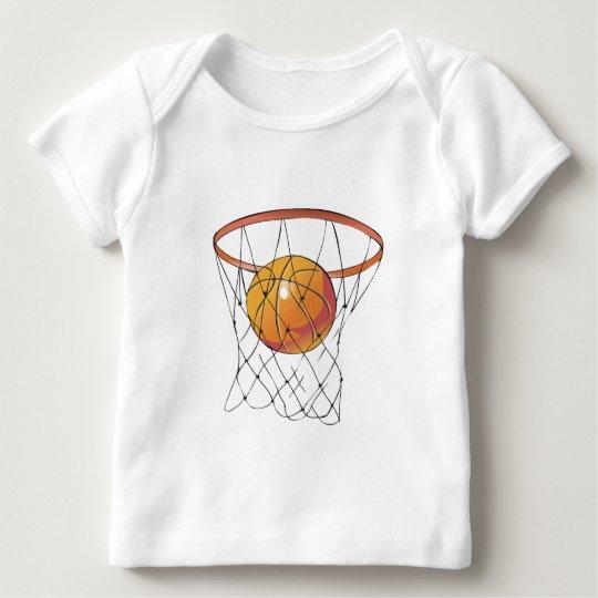 basketball in hoop baby T-Shirt
