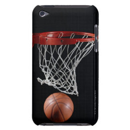 Basketball in Hoop Barely There iPod Cover