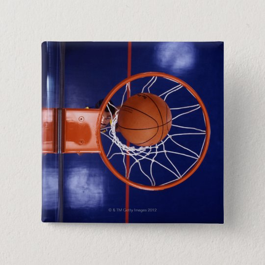 basketball in hoop button