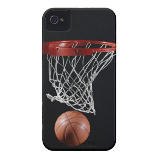 Basketball in Hoop iPhone 4 Case-Mate Case