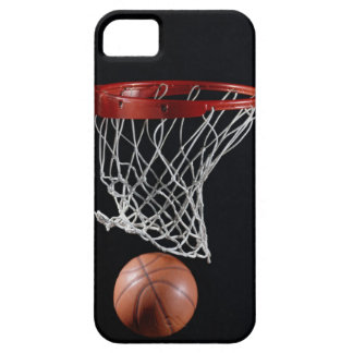 Basketball in Hoop iPhone SE/5/5s Case