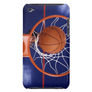 basketball in hoop iPod touch case