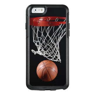 Basketball in Hoop OtterBox iPhone 6/6s Case
