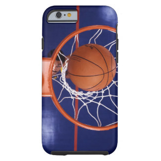 basketball in hoop tough iPhone 6 case