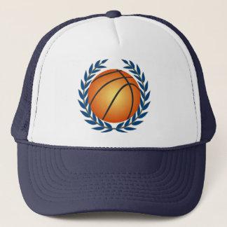 Basketball in Laurel Leaves Basketball Hat