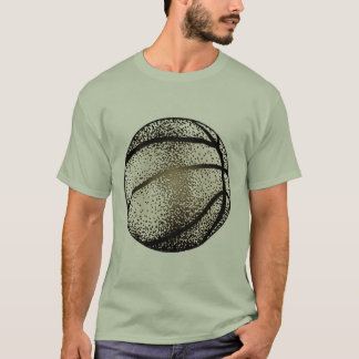 BASKETBALL IN SEPIA T-Shirt