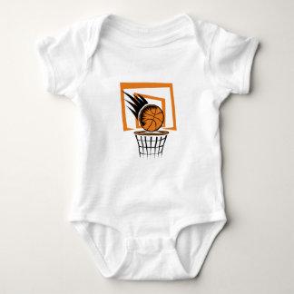Basketball in the Basket Baby Bodysuit