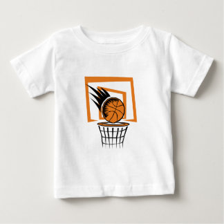 Basketball in the Basket Baby T-Shirt