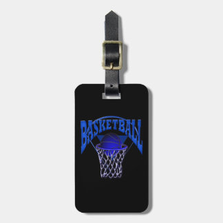 Basketball in the Net Bag Tag