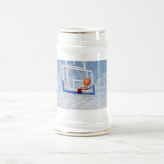 BASKETBALL IN THE SKY BEER STEIN