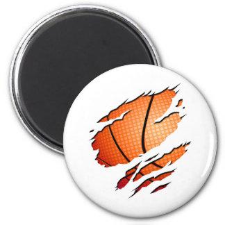 basketball_inside 2 inch round magnet