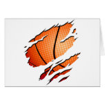 basketball_inside greeting card