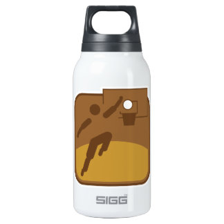 Basketball Insulated Water Bottle