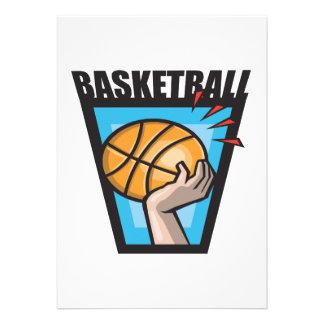 Basketball Personalized Invitations