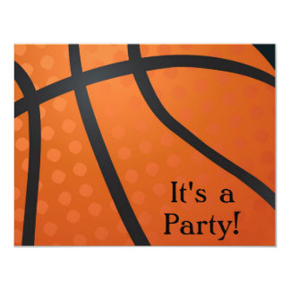 Basketball Team Invitations Announcements Zazzle
