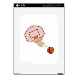 Basketball iPad 3 Decals