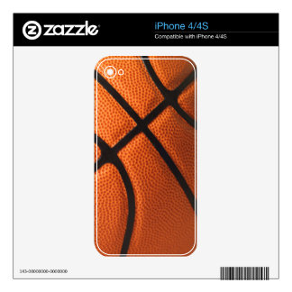 Basketball iPhone 4/4S Skin Skins For The iPhone 4
