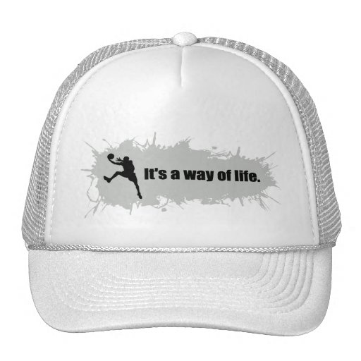 Basketball Is a Way of Life Mesh Hats