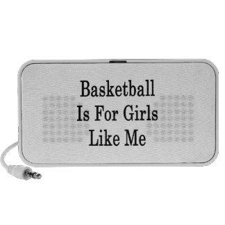 Basketball Is For Girls Like Me Laptop Speakers