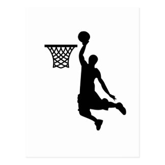 Basketball is great sports postcard