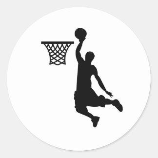 Basketball is great sports sticker