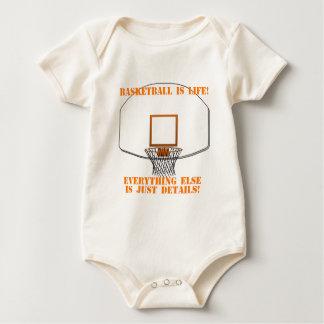 Basketball is Life Baby Bodysuit