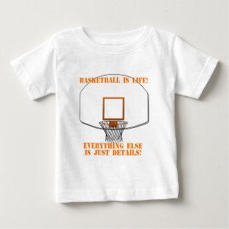 Basketball is Life Baby T-Shirt