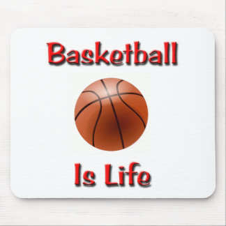 Basketball Is Life Mouse Pads