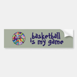 Basketball is My Game Bumper Sticker