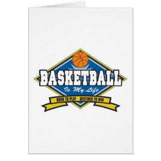 Basketball is My Life Card