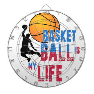 Basketball is my life dartboard