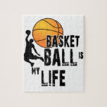 """Basketball is my life jigsaw puzzle<br><div class=""""desc"""">Basketball is my life</div>"""