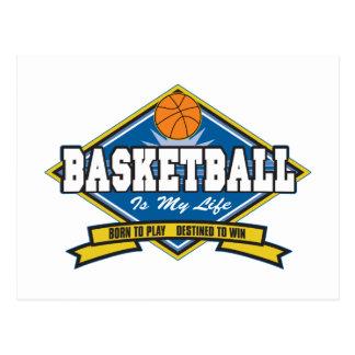 Basketball is My Life Postcard