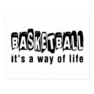 Basketball It's a way of life Postcard
